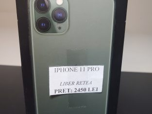 Iphone 11Pro 64gb liber de retea