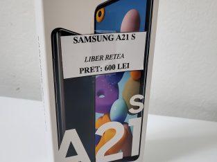 Samsung A21S la cutie nou